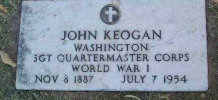 KEOGAN, JOHN - Yavapai County, Arizona | JOHN KEOGAN - Arizona Gravestone Photos