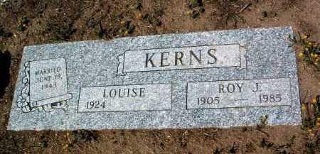 KERNS, LOUISE - Yavapai County, Arizona | LOUISE KERNS - Arizona Gravestone Photos