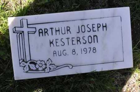 KESTERSON, ARTHUR JOSEPH - Yavapai County, Arizona | ARTHUR JOSEPH KESTERSON - Arizona Gravestone Photos