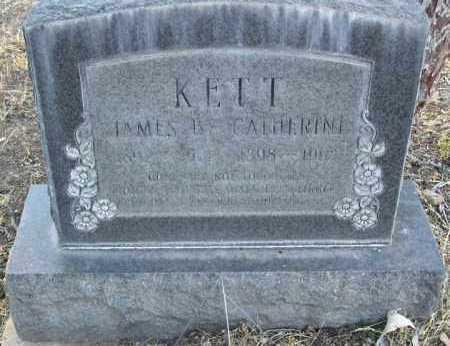 KETT, JAMES B. - Yavapai County, Arizona | JAMES B. KETT - Arizona Gravestone Photos