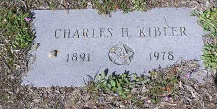 KIBLER, CHARLES H - Yavapai County, Arizona | CHARLES H KIBLER - Arizona Gravestone Photos