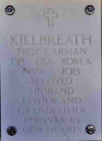 KILLBREATH, TROY CARMAN - Yavapai County, Arizona | TROY CARMAN KILLBREATH - Arizona Gravestone Photos
