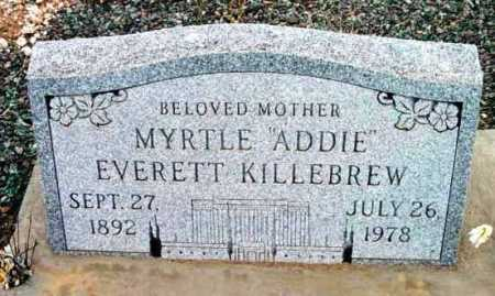 KILLEBREW, MYRTLE ADELINE - Yavapai County, Arizona   MYRTLE ADELINE KILLEBREW - Arizona Gravestone Photos