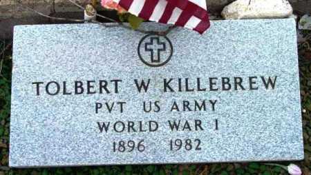 KILLEBREW, TOLBERT W. - Yavapai County, Arizona | TOLBERT W. KILLEBREW - Arizona Gravestone Photos