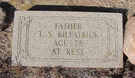 KILPATRICK, THOMAS S. - Yavapai County, Arizona | THOMAS S. KILPATRICK - Arizona Gravestone Photos