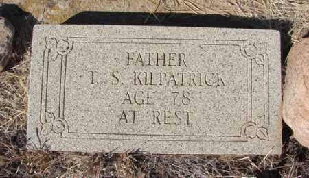 KILPATRICK, THOMAS S. - Yavapai County, Arizona | THOMAS S. KILPATRICK - Arizona Gravestone Photos