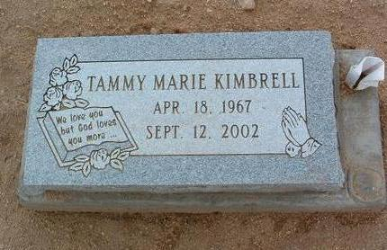 KIMBRELL, TAMMY MARIE - Yavapai County, Arizona | TAMMY MARIE KIMBRELL - Arizona Gravestone Photos