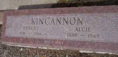 KINCANNON, ERNEST RASHO - Yavapai County, Arizona | ERNEST RASHO KINCANNON - Arizona Gravestone Photos