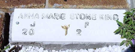 KING, ANNA MARIE - Yavapai County, Arizona   ANNA MARIE KING - Arizona Gravestone Photos