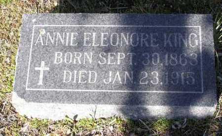 KING, ANNIE ELEONORE - Yavapai County, Arizona | ANNIE ELEONORE KING - Arizona Gravestone Photos
