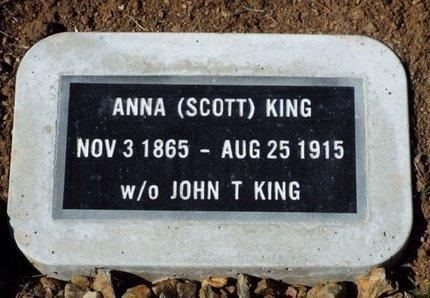 KING, ANNA - Yavapai County, Arizona | ANNA KING - Arizona Gravestone Photos