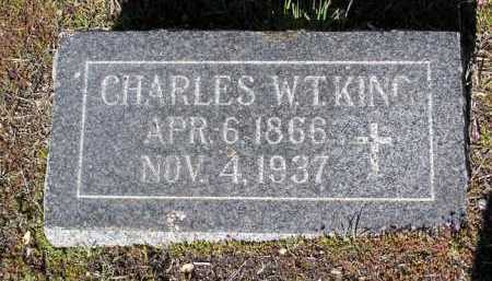 KING, CHARLES W. T. - Yavapai County, Arizona | CHARLES W. T. KING - Arizona Gravestone Photos