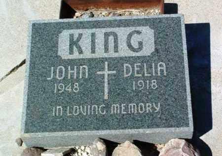 KING, DELIA - Yavapai County, Arizona | DELIA KING - Arizona Gravestone Photos