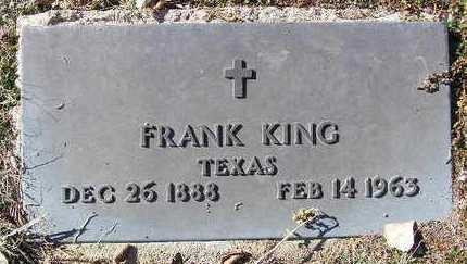 KING, FRANK - Yavapai County, Arizona   FRANK KING - Arizona Gravestone Photos