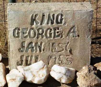 KING, GEORGE A. - Yavapai County, Arizona | GEORGE A. KING - Arizona Gravestone Photos