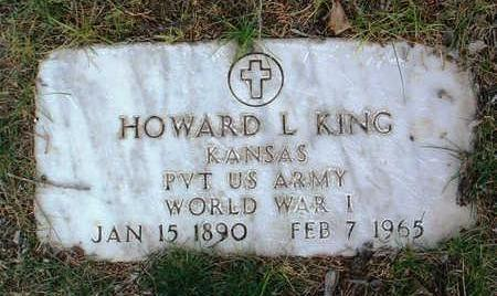 KING, HOWARD  L. - Yavapai County, Arizona   HOWARD  L. KING - Arizona Gravestone Photos
