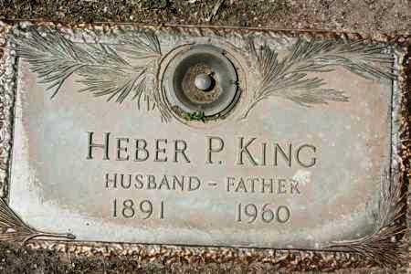 KING, HEBER PHILLIP - Yavapai County, Arizona | HEBER PHILLIP KING - Arizona Gravestone Photos