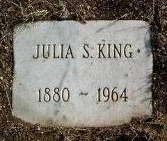 KING, JULIA S. - Yavapai County, Arizona | JULIA S. KING - Arizona Gravestone Photos