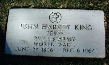 KING, JOHN HARVEY - Yavapai County, Arizona | JOHN HARVEY KING - Arizona Gravestone Photos