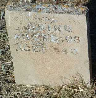 KING, JOHN - Yavapai County, Arizona | JOHN KING - Arizona Gravestone Photos
