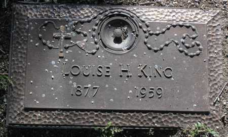 KING, LOUISE H. - Yavapai County, Arizona | LOUISE H. KING - Arizona Gravestone Photos