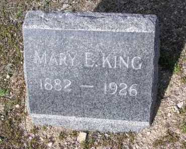 KING, MARY E. - Yavapai County, Arizona | MARY E. KING - Arizona Gravestone Photos
