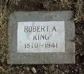 KING, ROBERT ALVIN - Yavapai County, Arizona | ROBERT ALVIN KING - Arizona Gravestone Photos
