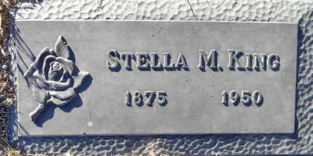 KING, STELLA M - Yavapai County, Arizona | STELLA M KING - Arizona Gravestone Photos