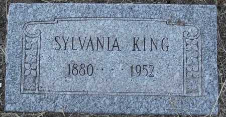 KING, SYLVANIA - Yavapai County, Arizona | SYLVANIA KING - Arizona Gravestone Photos