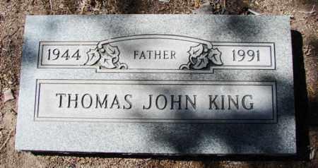 KING, THOMAS JOHN - Yavapai County, Arizona | THOMAS JOHN KING - Arizona Gravestone Photos