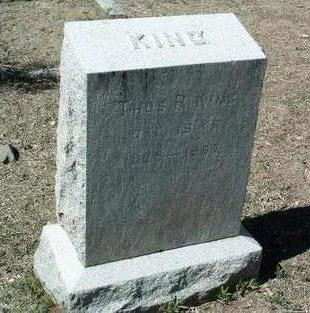 KING, THOMAS ROBERT - Yavapai County, Arizona   THOMAS ROBERT KING - Arizona Gravestone Photos