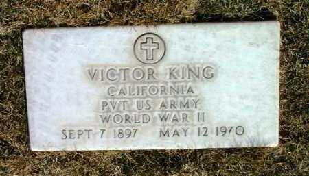 KING, VICTOR - Yavapai County, Arizona   VICTOR KING - Arizona Gravestone Photos