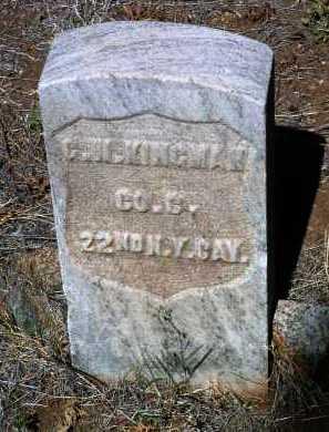KINGMAN, GEORGE W. - Yavapai County, Arizona | GEORGE W. KINGMAN - Arizona Gravestone Photos