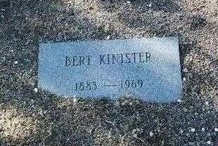 KINISTER, BERT A. - Yavapai County, Arizona | BERT A. KINISTER - Arizona Gravestone Photos