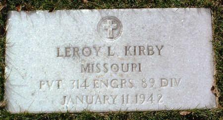 KIRBY, LEROY LORD - Yavapai County, Arizona   LEROY LORD KIRBY - Arizona Gravestone Photos
