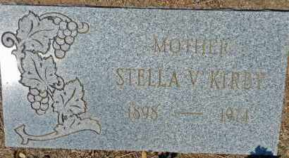 KIRBY, STELLA V. - Yavapai County, Arizona | STELLA V. KIRBY - Arizona Gravestone Photos