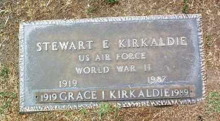 MANOR KIRKALDIE, GRACE I. - Yavapai County, Arizona   GRACE I. MANOR KIRKALDIE - Arizona Gravestone Photos