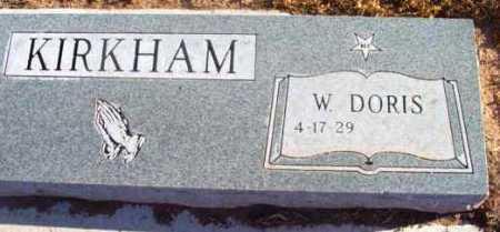 KIRKHAM, WANDA DORIS - Yavapai County, Arizona | WANDA DORIS KIRKHAM - Arizona Gravestone Photos