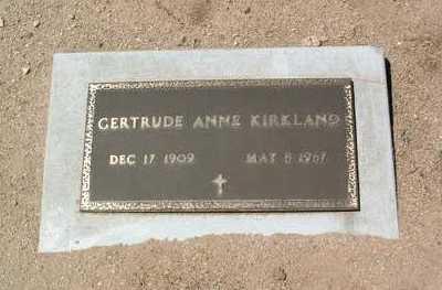 ARNEMAN KIRKLAND, G. A. - Yavapai County, Arizona | G. A. ARNEMAN KIRKLAND - Arizona Gravestone Photos