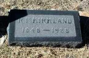 KIRKLAND, R. FRANK - Yavapai County, Arizona | R. FRANK KIRKLAND - Arizona Gravestone Photos