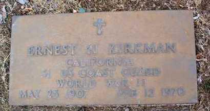 KIRKMAN, ERNEST HANSON - Yavapai County, Arizona | ERNEST HANSON KIRKMAN - Arizona Gravestone Photos