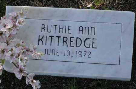 KITTREDGE, RUTHIE ANN - Yavapai County, Arizona | RUTHIE ANN KITTREDGE - Arizona Gravestone Photos