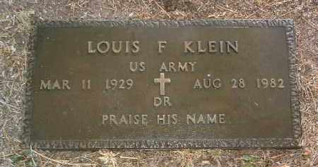 KLEIN, LOUIS FREDERICK - Yavapai County, Arizona | LOUIS FREDERICK KLEIN - Arizona Gravestone Photos