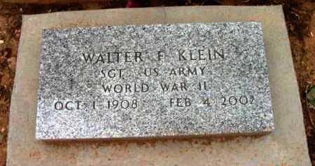 KLEIN, WALTER F. - Yavapai County, Arizona   WALTER F. KLEIN - Arizona Gravestone Photos