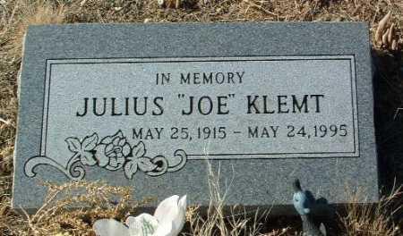 "KLEMT, JULIUS  ""JOE"" - Yavapai County, Arizona | JULIUS  ""JOE"" KLEMT - Arizona Gravestone Photos"