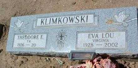 KLIMKOWSKI, THEODORE E. - Yavapai County, Arizona | THEODORE E. KLIMKOWSKI - Arizona Gravestone Photos