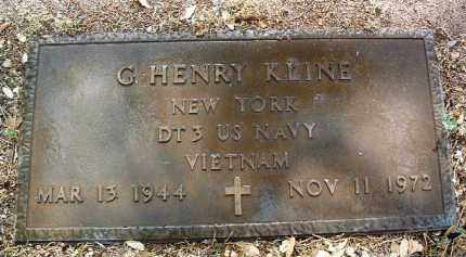 KLINE, GEORGE HENRY - Yavapai County, Arizona | GEORGE HENRY KLINE - Arizona Gravestone Photos