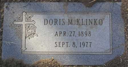 KLINKO, DORIS M. - Yavapai County, Arizona | DORIS M. KLINKO - Arizona Gravestone Photos
