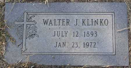 KLINKO, WALTER J. - Yavapai County, Arizona | WALTER J. KLINKO - Arizona Gravestone Photos