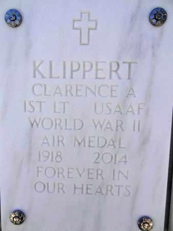 KLIPPERT, CLARENCE ALBERT - Yavapai County, Arizona | CLARENCE ALBERT KLIPPERT - Arizona Gravestone Photos